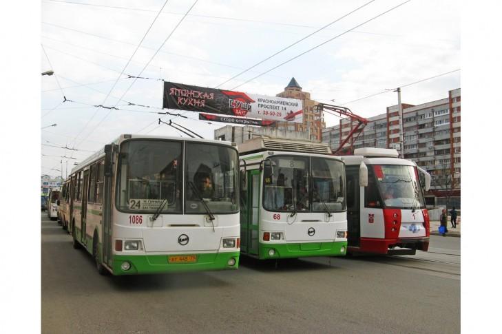трамвай, тролейбус, автобус