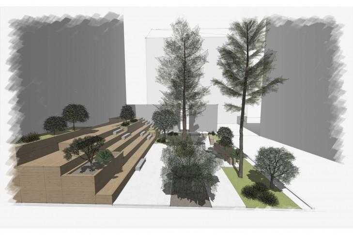 Ескіз ландшафтного проекту