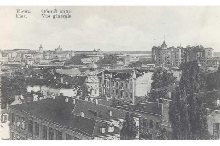 Хмарочос Льва Гінзбурга, вул. Інститутська 16-18 (1912-1941 рр)