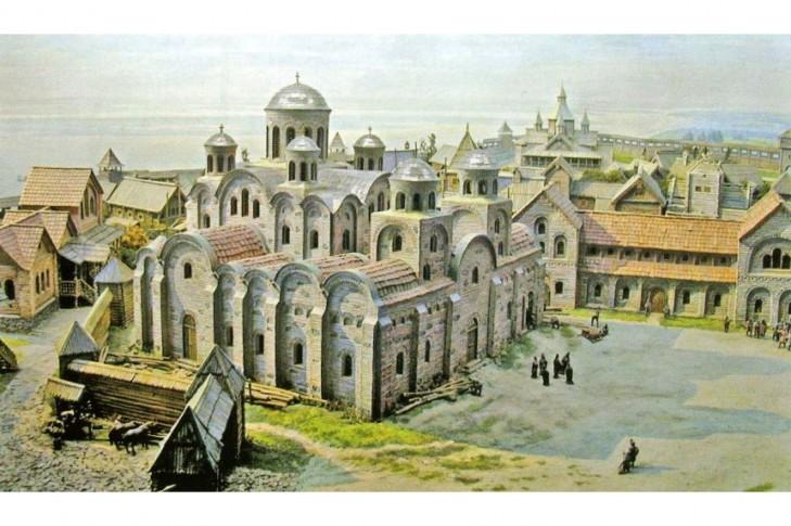 Створити голограму Десятинної церкви над історичними підмурками