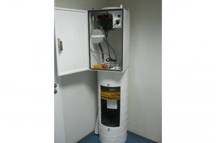 система очищення сміттєпроводу