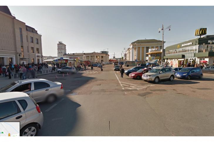 Реконструкция Вокзальной площади