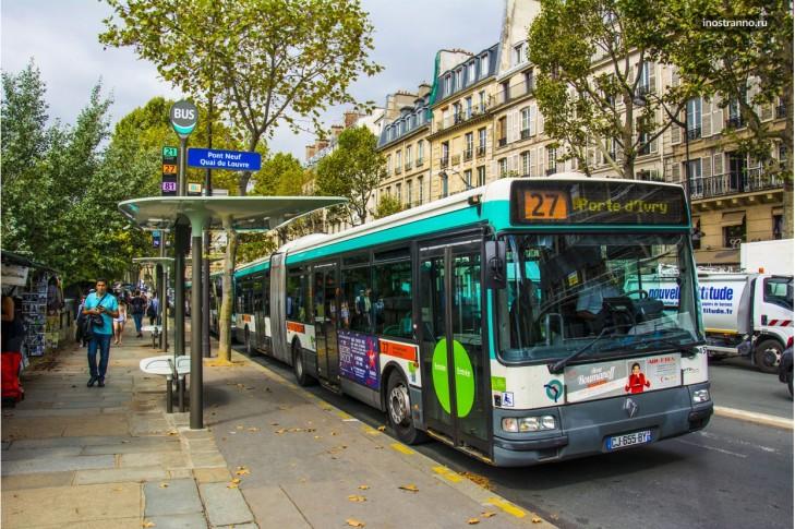 Громадські автобуси Франції
